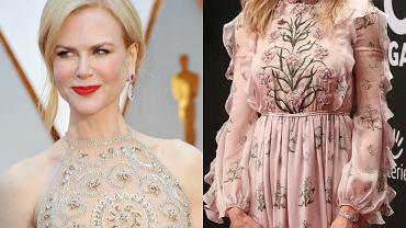 Nicole Kidman na Oscarach i na Germany Golden Camera Awards