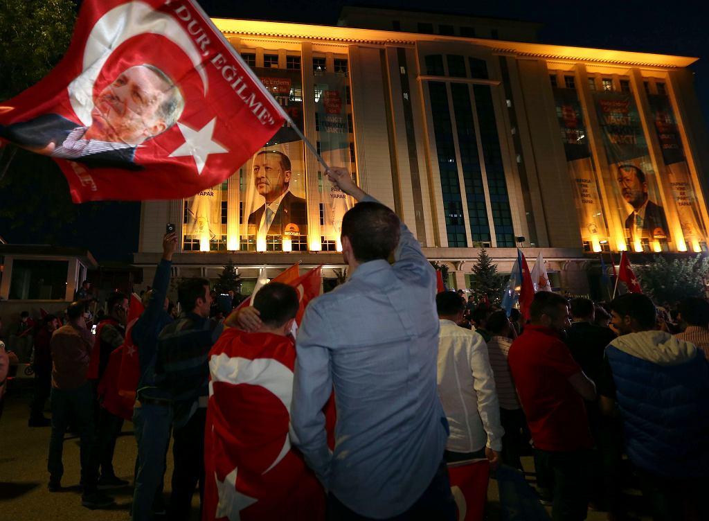 Recep Tayyip Erdogan wygrał wybory prezydenckie w Turcji