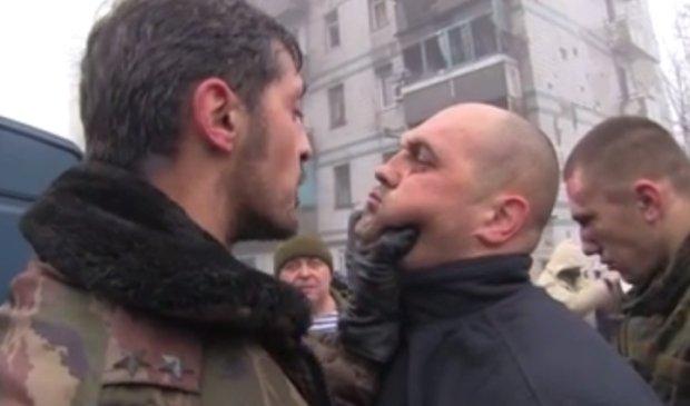 Kadr z filmu przedstawiającego sytuację na Ukrainie