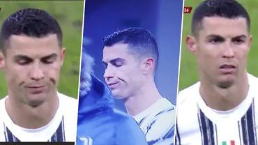 Cristiano Ronaldo był niezadowolony po zmianie