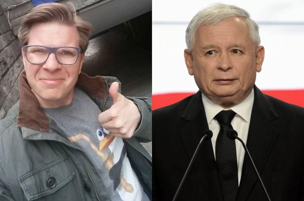 Filip Chajzer, Jarosław Kaczyński