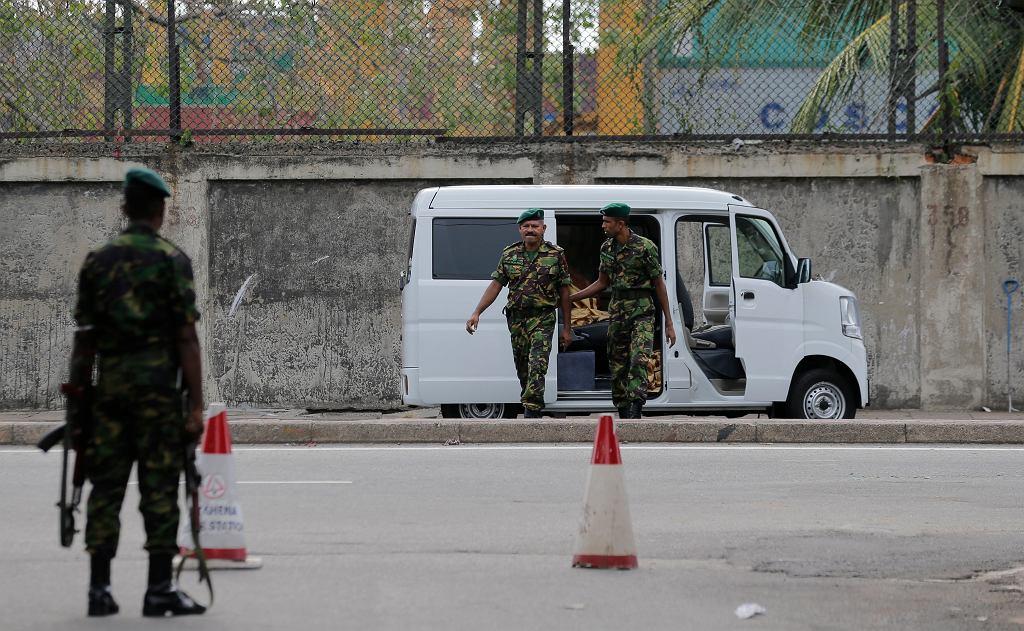 Sri Lanka. Miejsce poniedziałkowej eksplozji