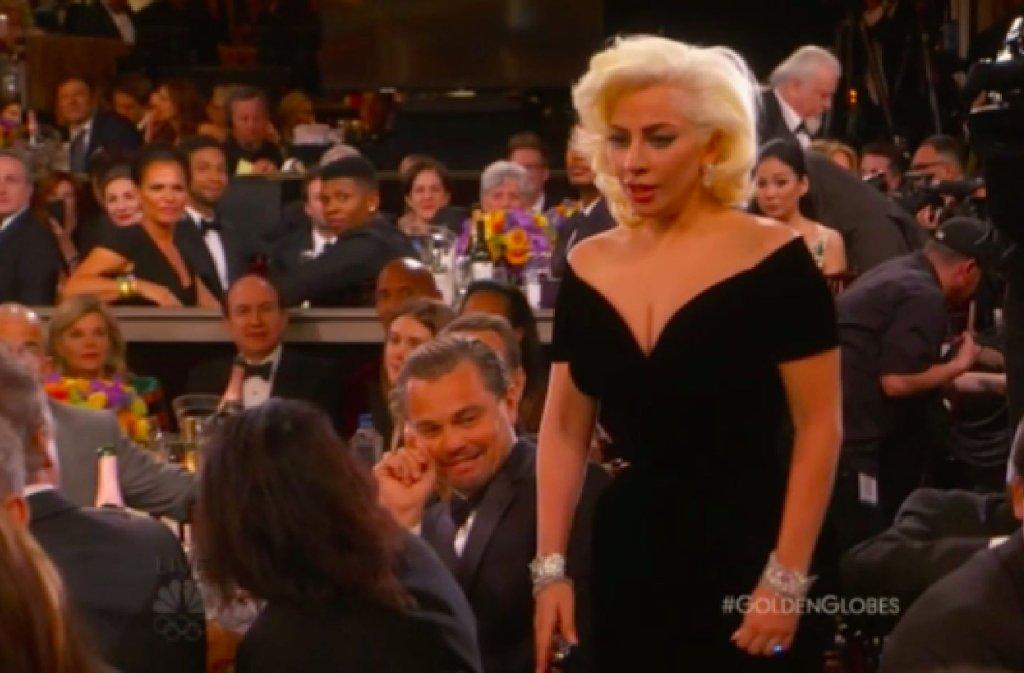 Leonardo DiCpario i Lady Gaga