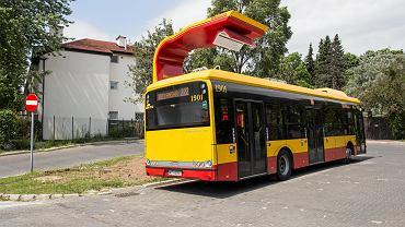 Punkt ładowania autobusów elektrycznych na pętli Spartańska