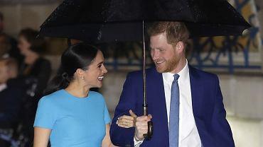 Meghan Markle i książę Harry zakochani