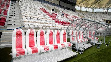 Zwiedzanie stadionu ŁKS-u przy al. Unii