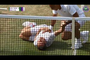 Wimbledon. Jonas Bjoerkman zrobił Neymara