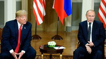 Spotkanie Donalda Trumpa z Władimirem Putinem w Helsinkach