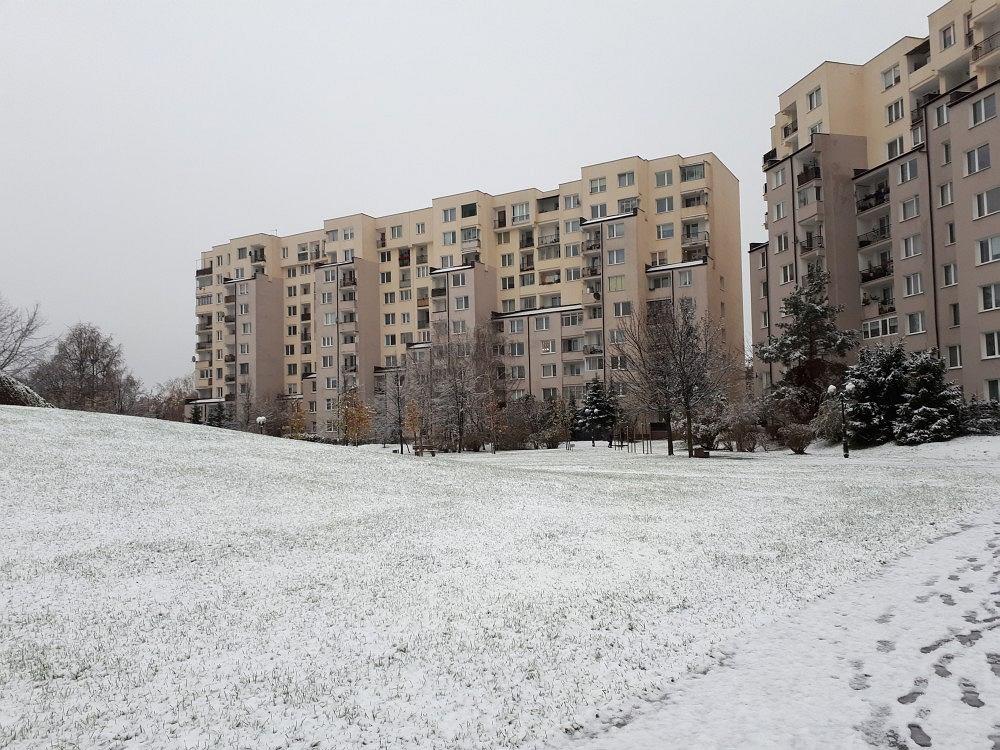 Zima na Targówku