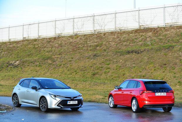 Opinie Moto.pl: Skoda Scala 1.0 TSI vs. Toyota Corolla 1.2 T. Czy mały silnik benzynowy ma sens w sporym kompakcie?