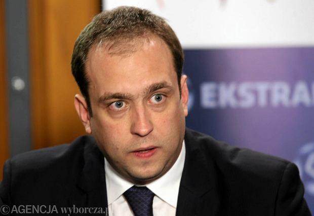 Prezes Ekstraklasy Marcin Animucki
