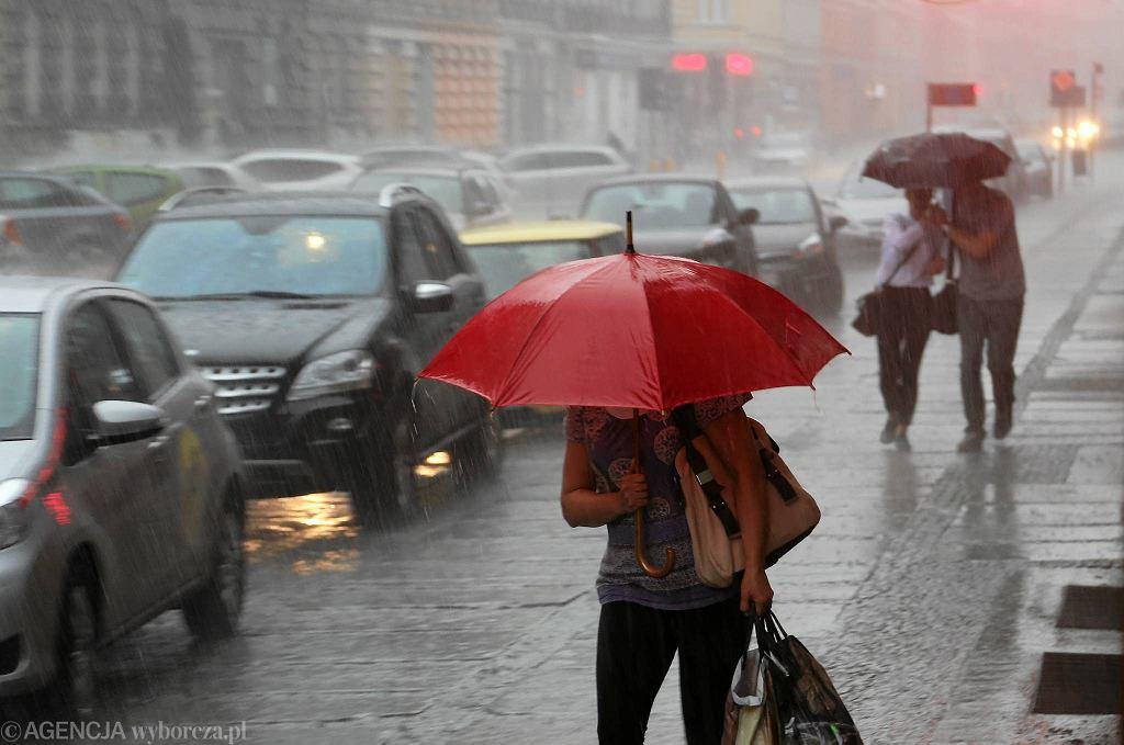 Deszcz (zdjęcie ilustracyjne)