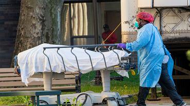 Epidemia koronawirusa w USA