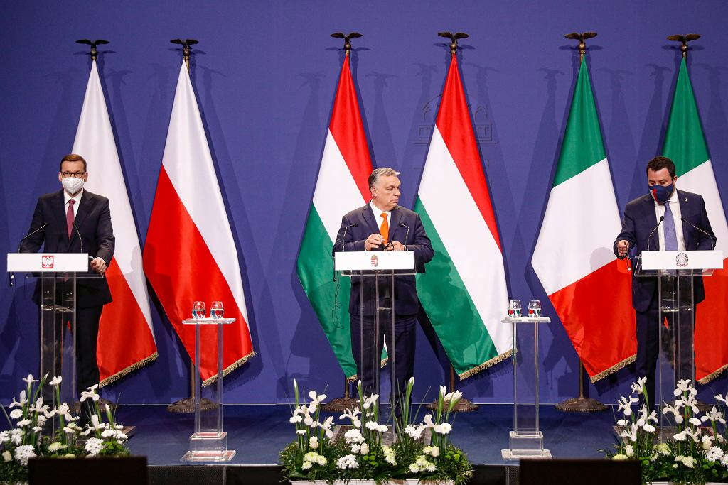 Hungary Poland Italy Right Wing