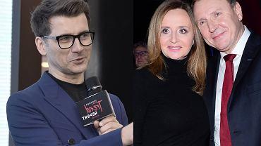 Tomasz Kammel rozpływał się nad Jackiem Kurskim i jego żoną w trakcie koncertu. Gorzkie opinie: Gra w orkiestrze. Kurskiego
