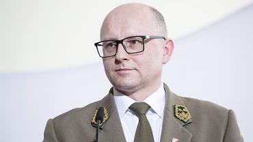 Dyrektor Generalny Lasów Państwowych Andrzej Konieczny odwołany