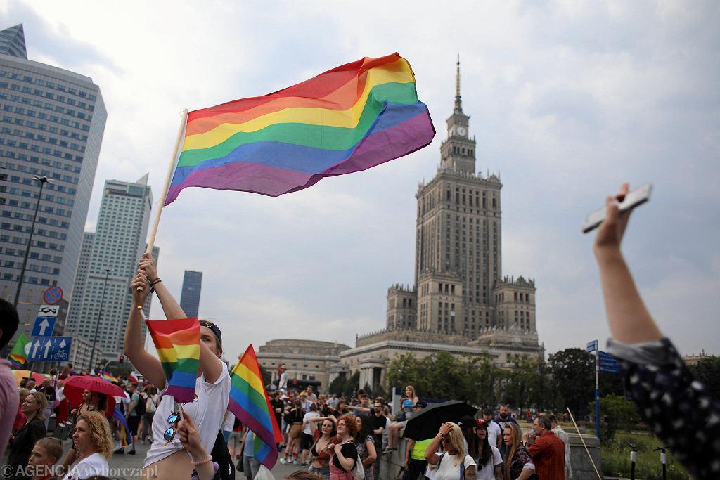 Parada Równości. Warszawa, 8 czerwca 2019