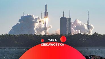 Start rakiety Długi Marsz 5B