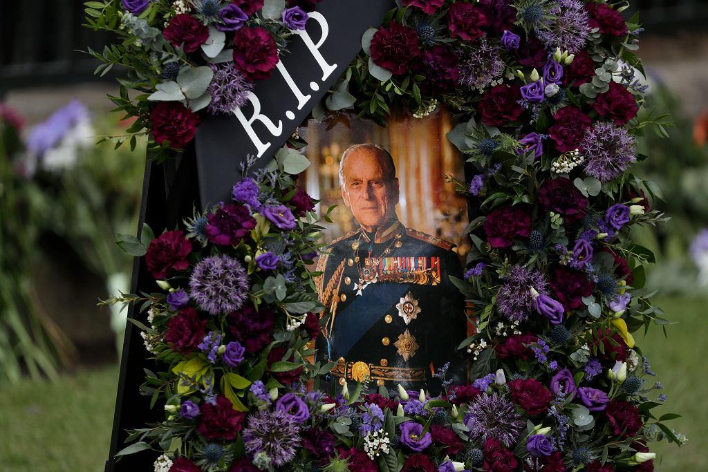 Przygotowania do pogrzebu księcia Filipa