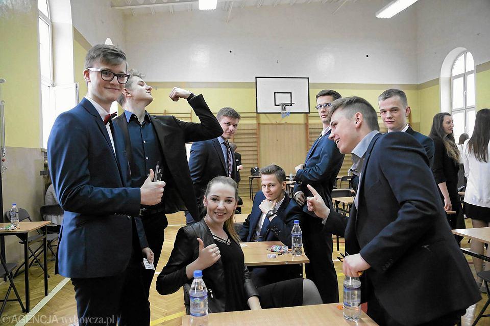 Egzamin maturalny z języka polskiego w III Liceum Ogólnokształcącym w Białymstoku