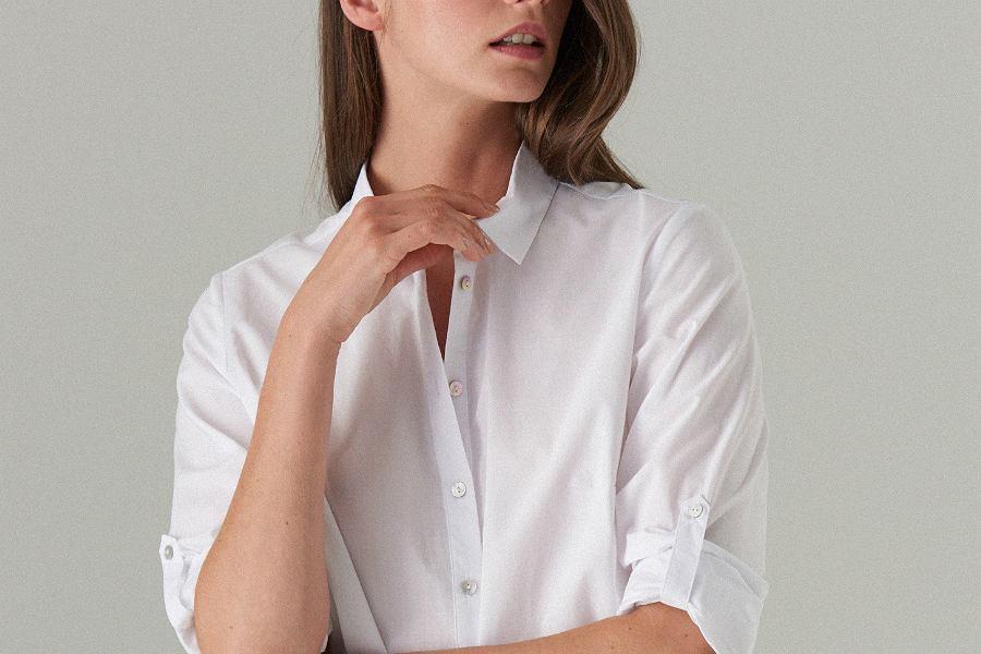 biała koszula Mohito