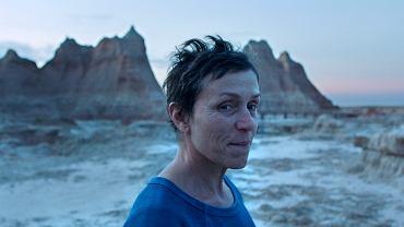 Oscary 2021. Na zdjęciu: Frances McDormand - laureatka nagrody dla najlepszej aktorki za rolę w filmie 'Nomadland'