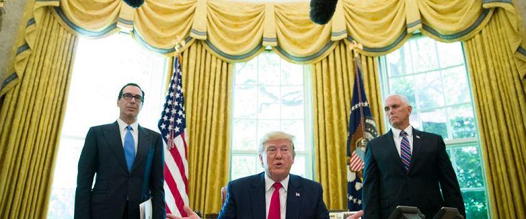 Donald Trump straszy Iran.