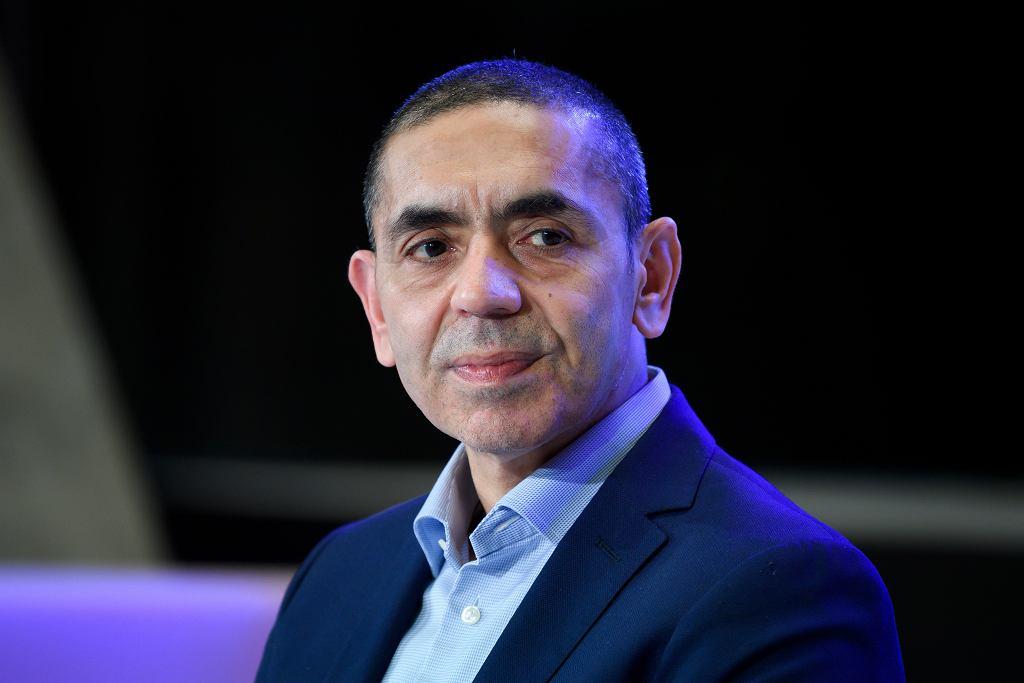 Ugur Sahin, szef firmy BioNTech