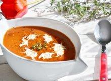 Krem z pomidorów - ugotuj