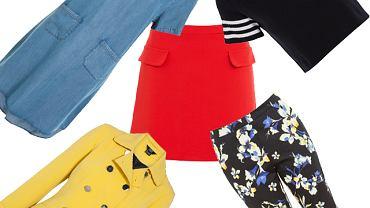 F&F inspiruje się trendami prosto ze światowych wybiegów, dlatego w najnowszej kolekcji bez trudu odnajdziesz najmodniejsze ubrania idealnie współgrające z nowym sezonem. W wiosennej kolekcji nie mogło zabraknąć stylu marynarskiego, stąd obecność pasów o różnej szerokości oraz charakterystycznej kolorystyce - bieli, czerwieni i granacie. Na topie są również egzotyczne motywy i etniczne wzory. Miłośniczki dżinsu znajdą dla siebie szeroki wybór spodni, sukienki oraz szorty z denimu.