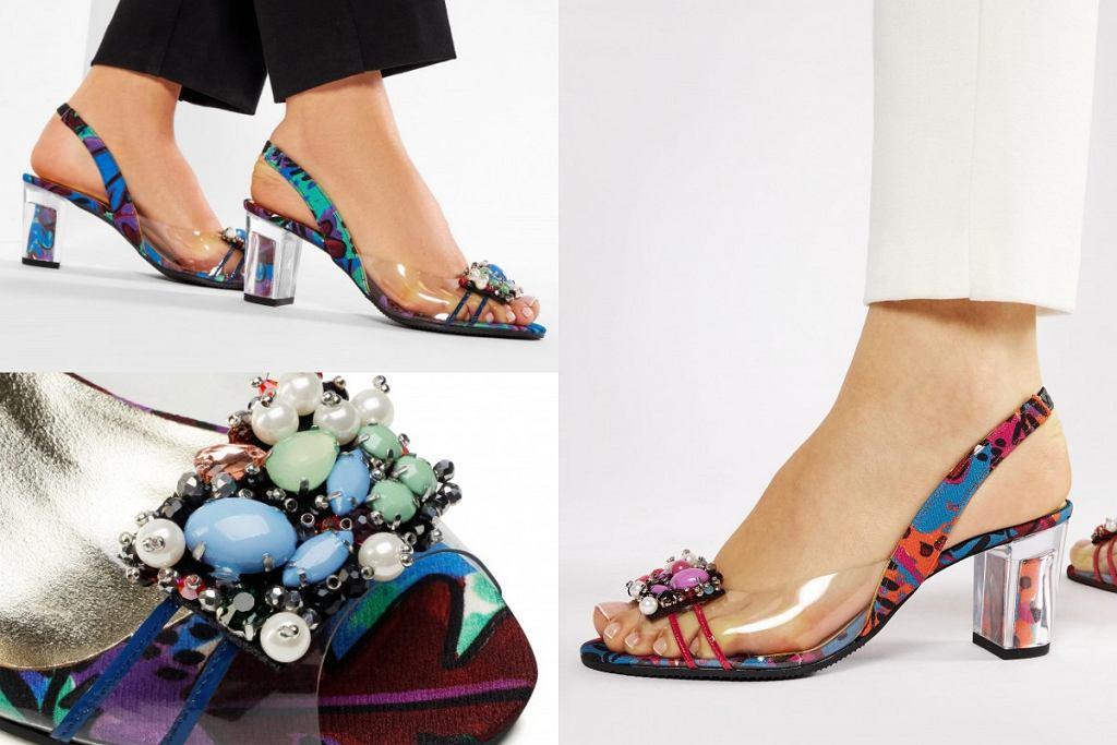 Kolorowe buty na lato