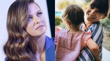 Anna Lewandowska / Anna Lewandowska z Klarą