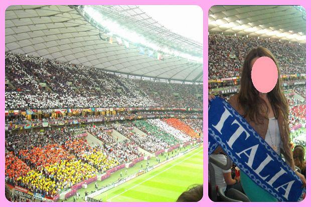 Stadion Narodowy w Warszawie podczas meczu Niemcy - Włochy