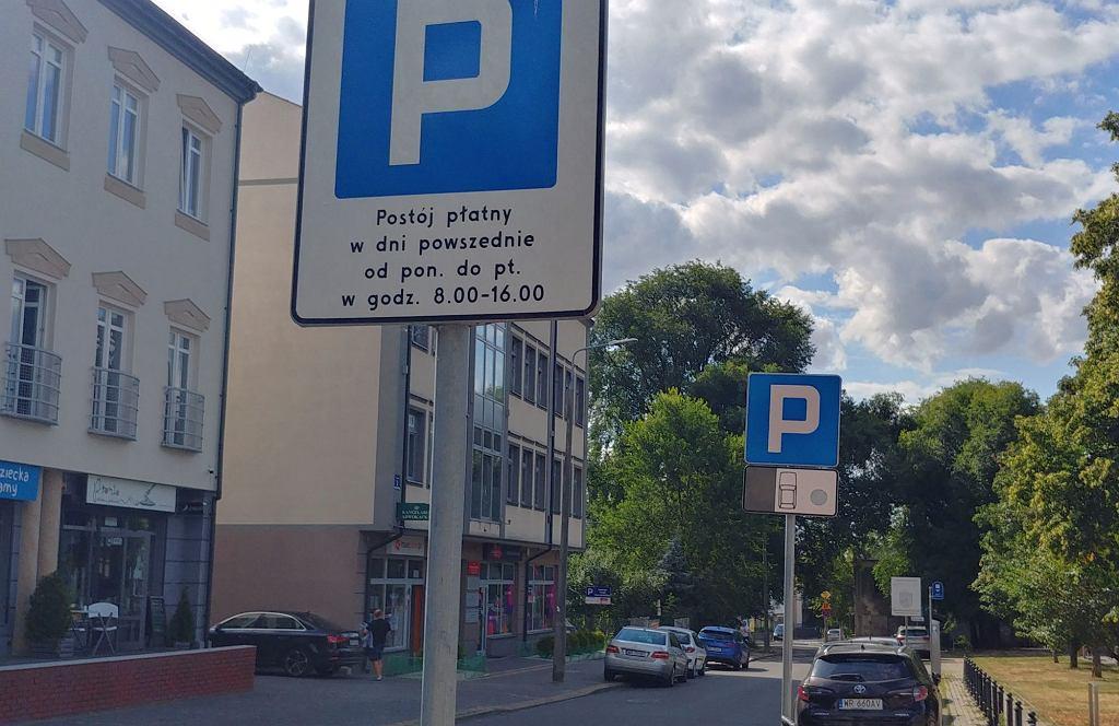 Strefa płatnego parkowania w Radomiu