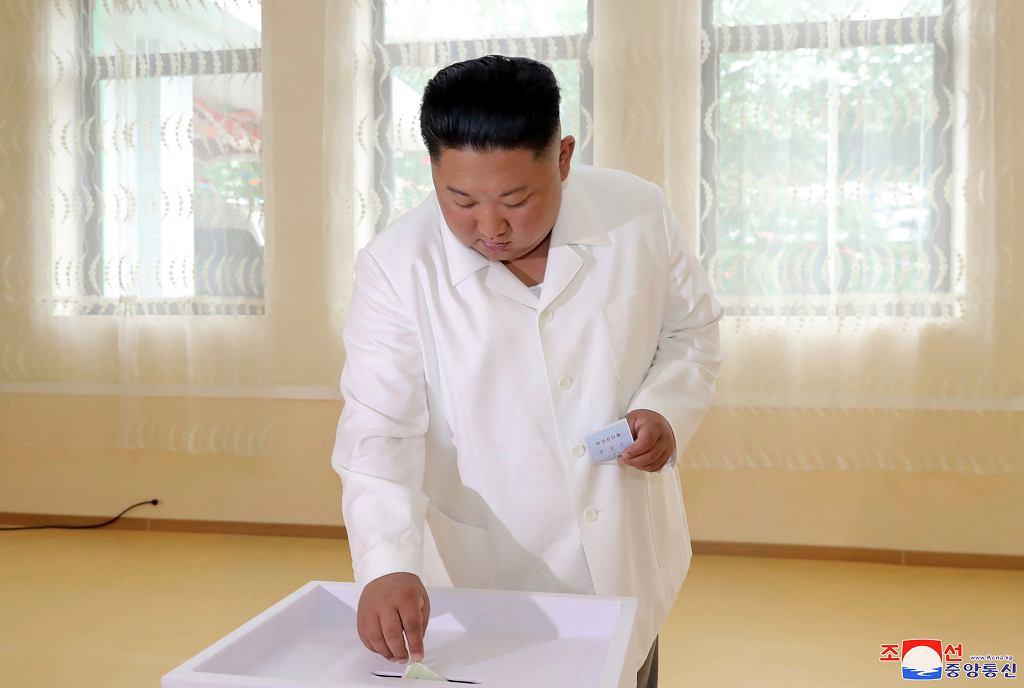 Korea Północna: Kim Dzong Un zagłosował w wyborach lokalnych