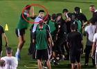 """Cristiano Ronaldo """"zaatakował"""" policjanta. Higuain nie mógł w to uwierzyć [WIDEO]"""