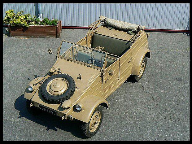 Wojskowy Volkswagen bazował na Volkswagenie Garbusie
