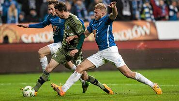 Lech Poznań - Legia Warszawa 0:2. Tomasz Kędziora, Kasper Hamalainen, Paulus Arajuuri