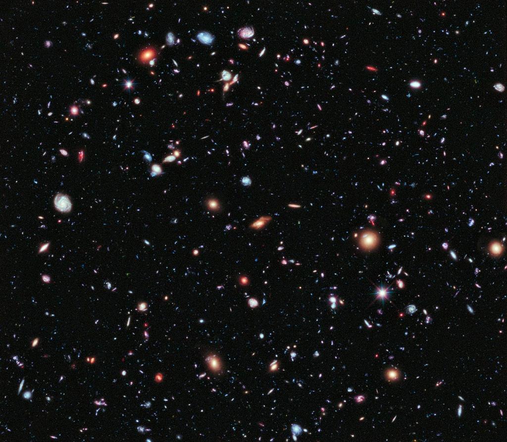 Ekstremalnie Głębokie Pole Hubble'a (zdjęcie ilustracyjne)