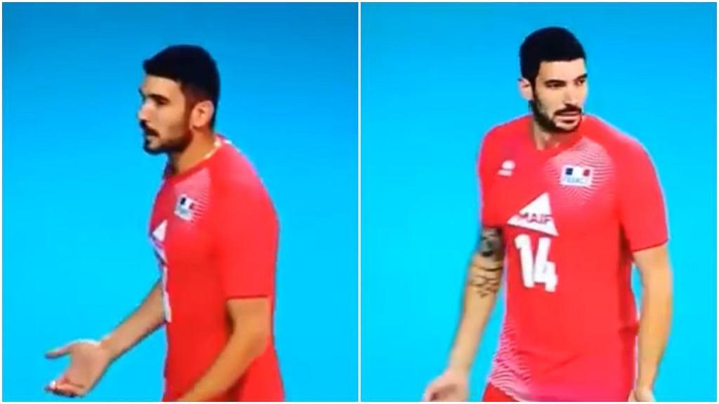 Nicolas Le Goff pogubił się podczas meczu Francji z Bułgarią