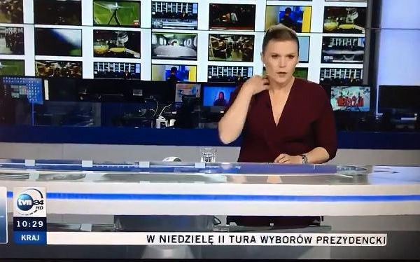 """Prezenterka TVN24 zaliczyła wpadkę na wizji. Nie wiedziała, że jest na żywo. """"Przyłapali mnie państwo"""""""