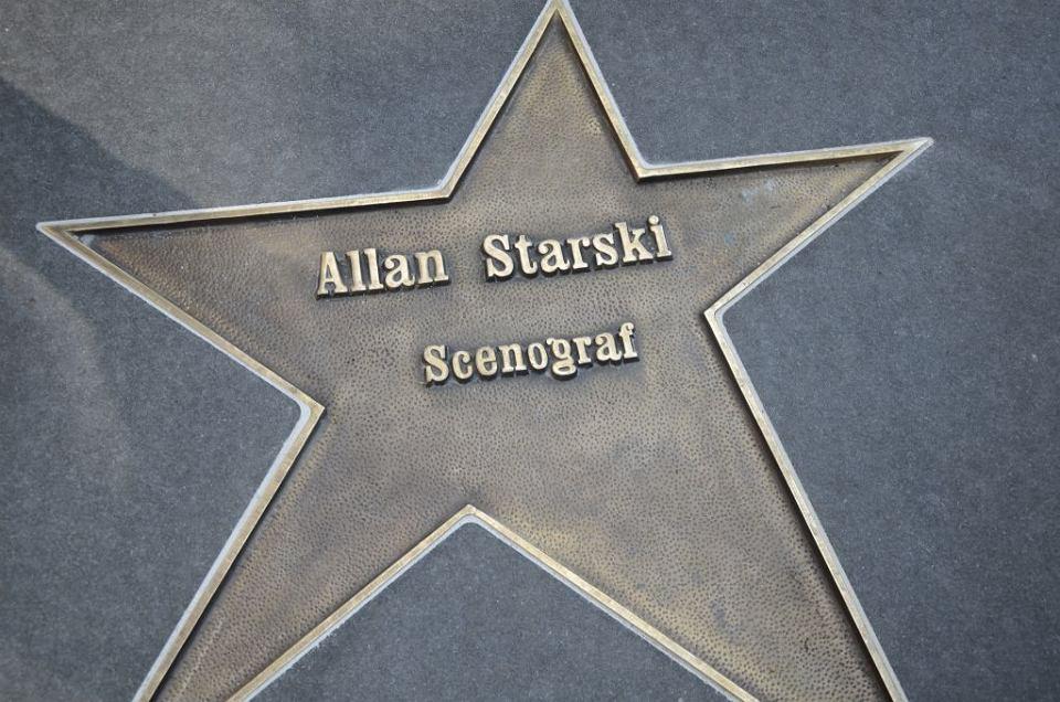 Odsłonięcie gwiazdy Allana Starskiego