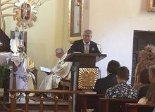 Europoseł PiS przemawiał w kościele. Ryszard Czarnecki: Było mi miło