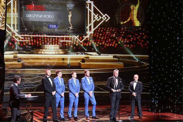 Szczypiorniści Vive Targi Kielce na Gali Mistrzów Sportu