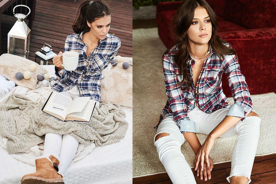 Natty Looker to koszule idealne dopasowane do kobiecej sylwetki