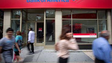 Jeden z oddziałów Bank of America w Nowym Jorku