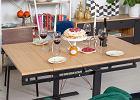 3 designerskie stoły do salony