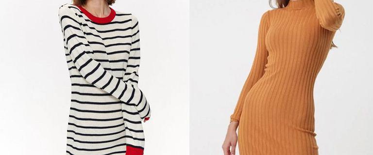 Dopasowane sukienki na jesień! Dzianinowe modele, w których nie zmarzniesz!