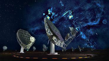Naukowcy odkryli gigantyczne struktury w centrum Drogi Mlecznej