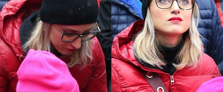 Justyna Żyła zabrała dzieci na konkurs skoków narciarskich